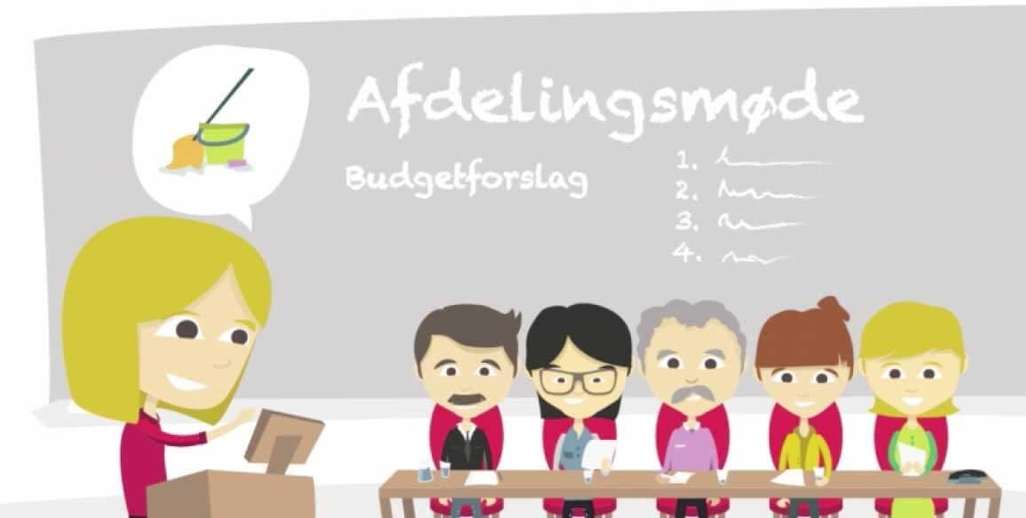 BOLIGSELSKABET SJÆLLAND – Afdelingens budget